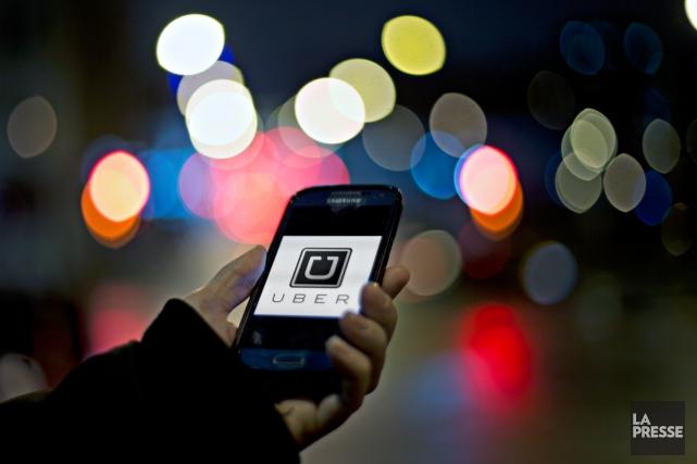 «Même si, selon toute logique, l'application Uber ne... (Photo Olivier Jean, archives La Presse)