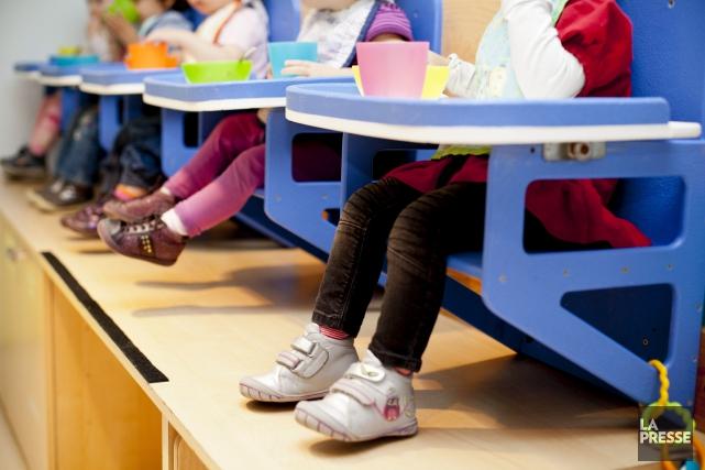 L'Association québécoise des centres de la petite enfance (AQCPE) range les... (Sarah Mongeau-Birkett, Archives La Presse)