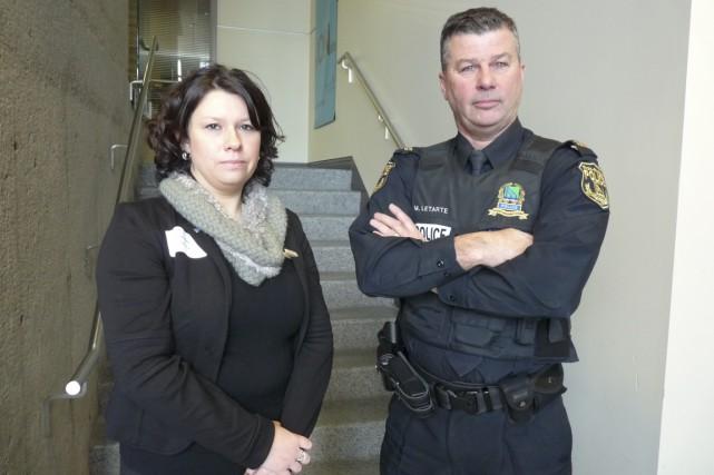 Julie Poirier, directrice adjointe, Santé mentale de proximité... (Brigitte Trahan)
