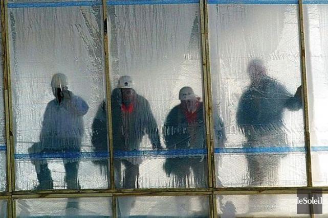 La faible présence des femmes dans la construction... (Archives, Le Soleil)