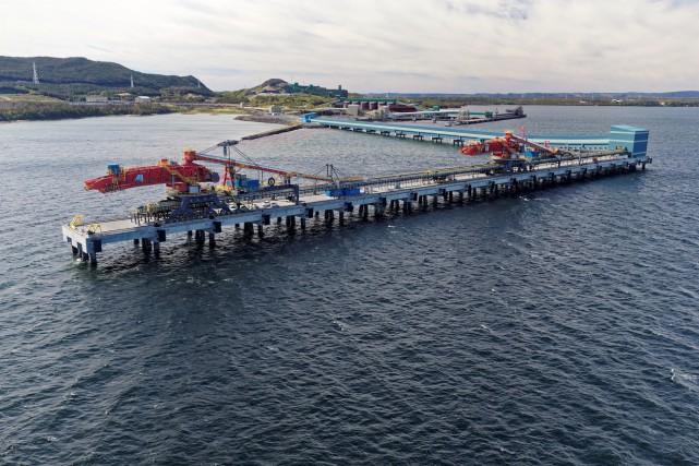 En achetant les actifs de Cliffs Natural Resources... (Photo fournie par le Port de Sept-Îles)