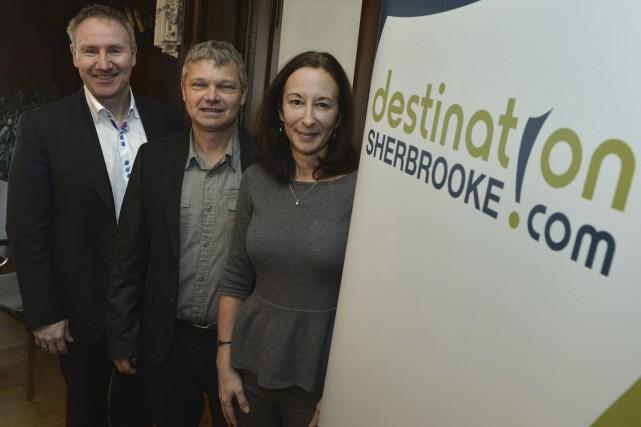 Destination Sherbrooke a présenté les 17 projets touristiques... (Spectre Média, Maxime Picard)