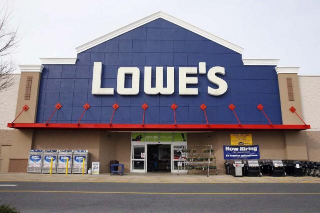 Un magasin Lowe's, à Philadelphie... (Photo Matt Rourke, archives Associated Press)