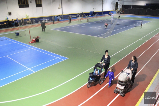 On jouera entre autres au tennis, au soccer,... (Martin Brunette, LeDroit)