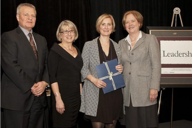 L'événement Savoir Affaires a été honoré, jeudi, lors... (Photo courtoisie)