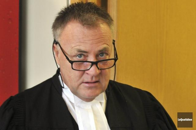 Me Jean-Marc Fradette est l'avocat du courtier.... (Archives Le Quotidien, Rocket Lavoie)