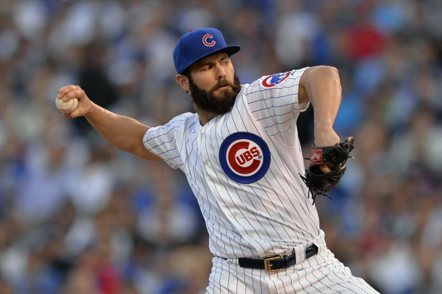 Jake Arrieta... (PHOTO PAUL BEATY, ARCHIVES AP)