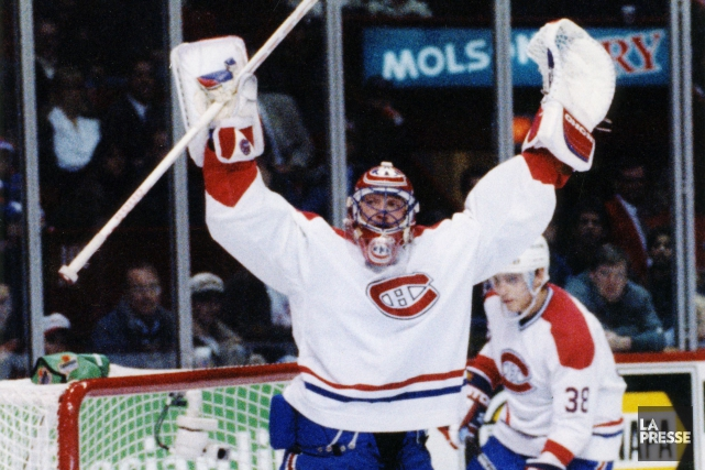 Le 2 décembre 1995, Patrick Roy a disputé... (PHOTO BERNARD BRAULT, ARCHIVES LA PRESSE)