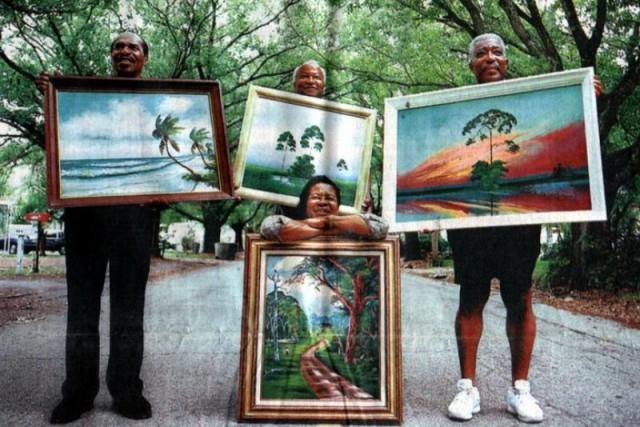 Des Highwaymen, croqués par un photographe inconnu.... (Photo tirée du site web de La Petite Mort Gallery)