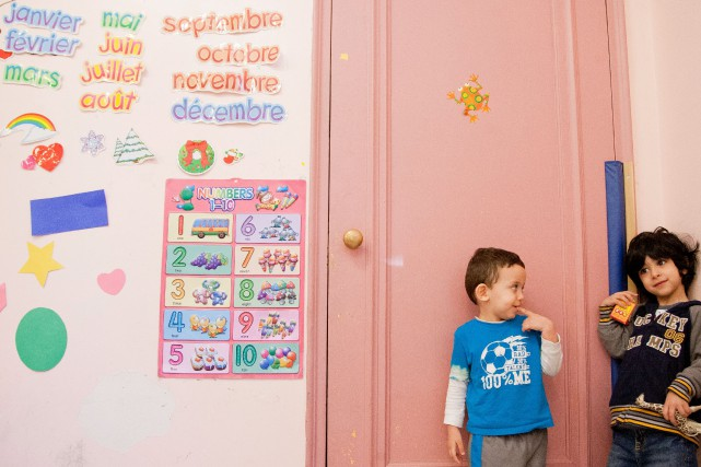 « Les enfants bilingues sont plus capables de se... (PHOTO ANNE GAUTHIER, LA PRESSE)