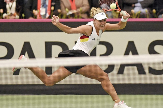 Angelique Kerber... (Photo Jens Meyer, AP)