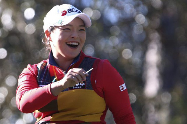 Jang Ha-na... (PHOTO BRUCE ACKERMAN, AP/STAR-BANNER)