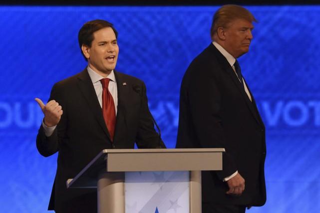 Le sénateur de Floride Marco Rubio a été... (PHOTO JEWEL SAMAD, AFP)