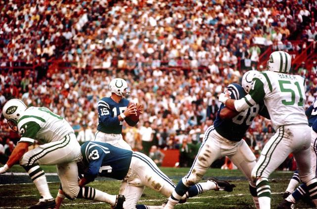 En janvier 1969, après une saison de 13-1,... (Archives AP)