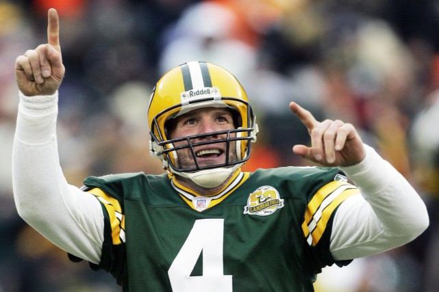 Brett Favre s'est illustré avec les Packers de... (PHOTO MORRY GASH, ARCHIVES ASSOCIATED PRESS)