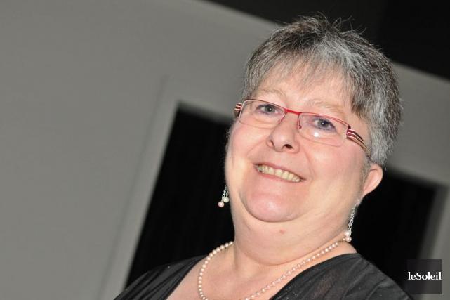 La présidente du Mouvement Retrouvailles, Caroline Fortin... (Photothèque Le Soleil)