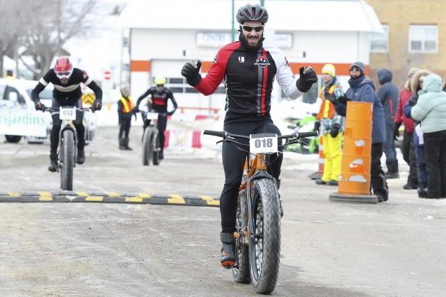 Champion canadien en titre de l'Eliminator, l'Almatois Samuel... (Photo Le Progrès-Dimanche, Gimmy Desbiens)