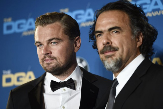 Leonardo DiCaprio, vedette de The Revenant, et le... (AP, Chris Pizzello)