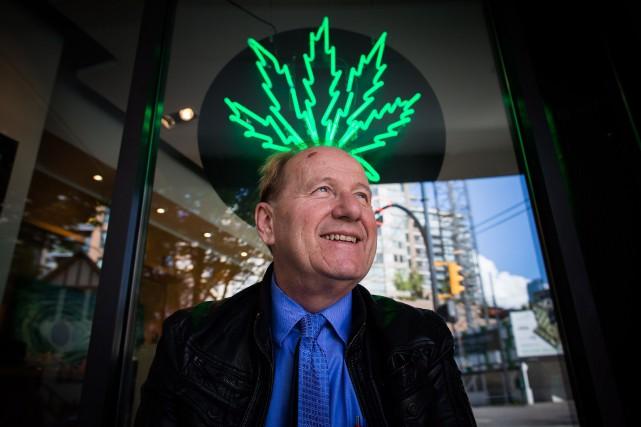 Le propriétaire d'une chaîne de magasins de cannabis... (Archives La Presse Canadienne, Darryl Dyck)