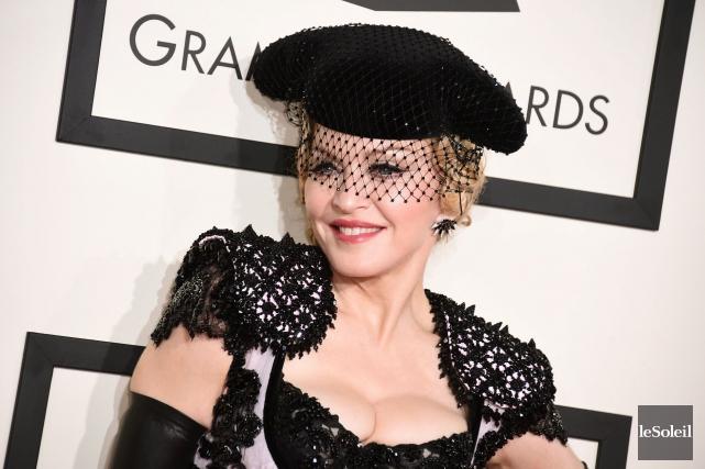 Madonna... (Photothèque Le Soleil)