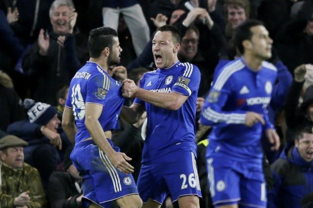 Diego Costa a permis à Chelsea d'amasser un... (PHOTO TIM IRELAND, AP)