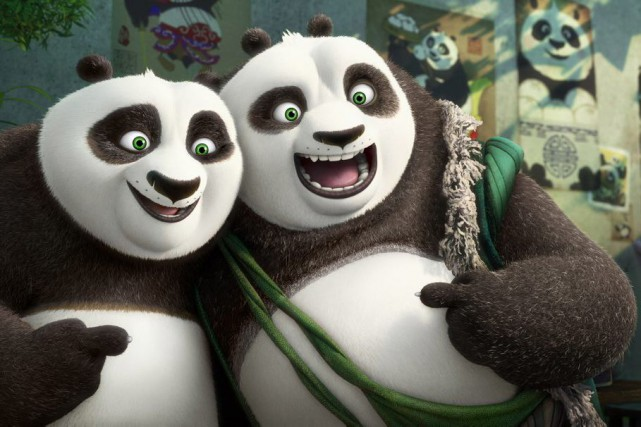 Kung Fu Panda 3... (PHOTO FOURNIE PAR DREAMWORKS)