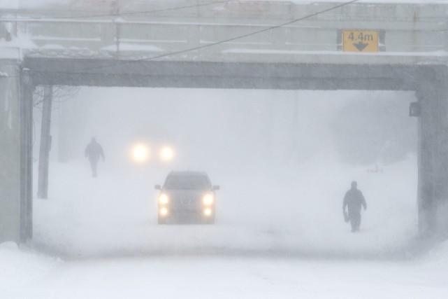 Le Canada Atlantique a revécu une histoire familière, lundi, puisqu'une vilaine... (PHOTO DEVAAN INGRAHAM, ARCHIVES REUTERS)
