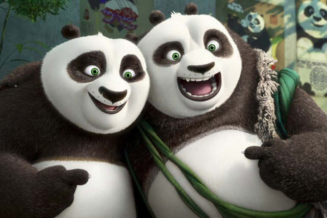 Le dessin animé «Kung Fu Panda 3», avec... (DreamWorks Animation)