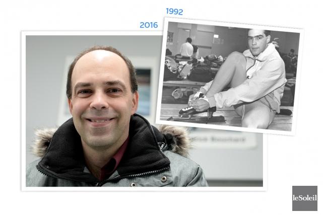 L'ex-patineur de vitesse Patrick Bouchard a profité de... (Infographie Le Soleil)