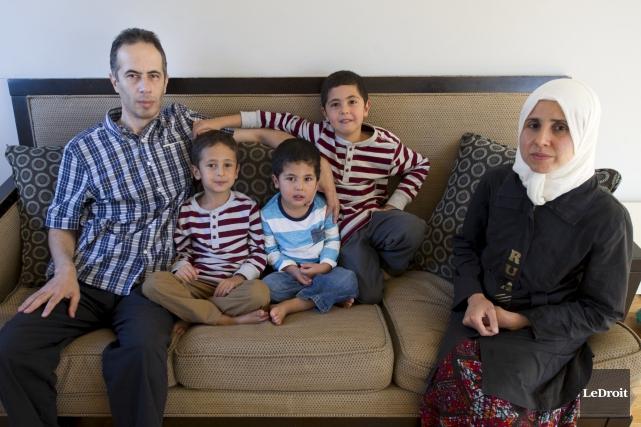 Dima Siam, la mère, Mohammed Al-Rayan, le père,... (Martin Roy, archives LeDroit)