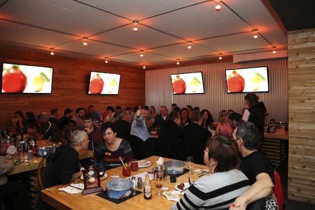 Le happening était à La Shed, dimanche soir,... (photo Julie Catudal)