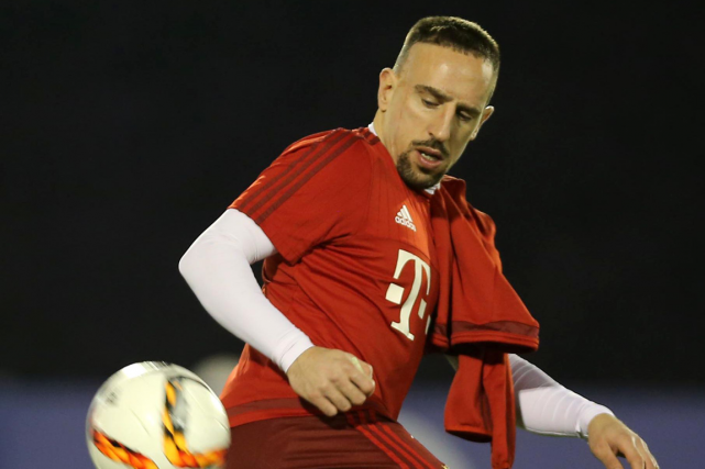 Franck Ribéry... (Photo archives AFP)