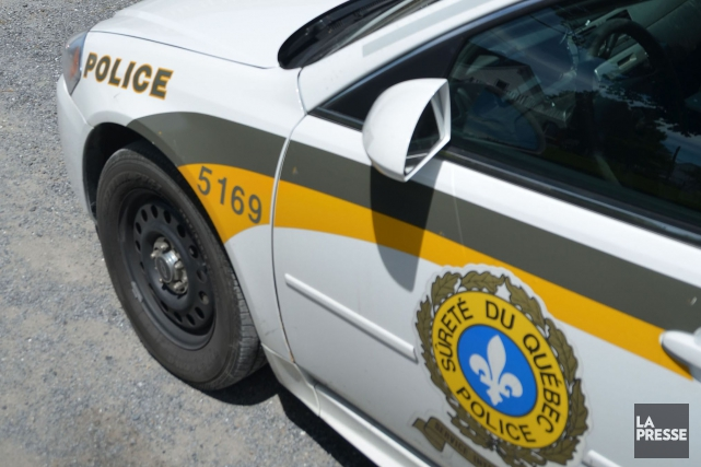 Un Albertain de 30 ans a été arrêté... (PHOTO ARCHIVES LA PRESSE)