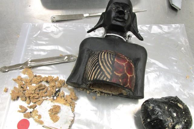 Le colis, qui devait être livré à une... (PHOTO FOURNIE PAR L'ASFC)