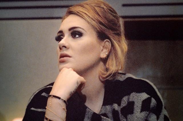 La chanteuse britannique Adele, qui a battu des records avec son dernier album... (PHOTO ALEXANDRE WAESPI, FOURNIE PAR BEGGARS GROUP CANADA)