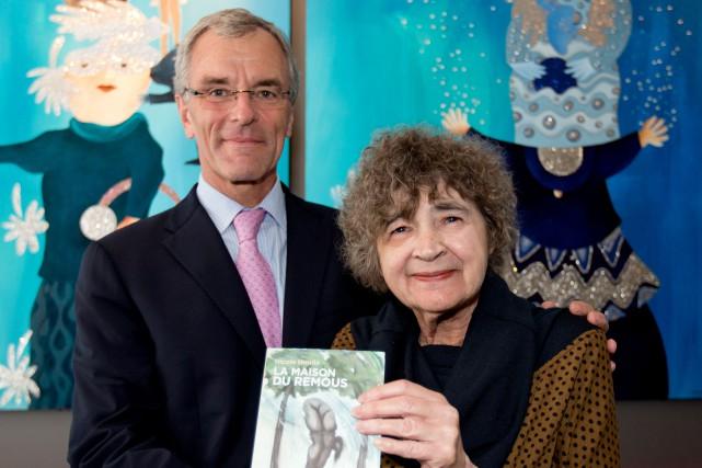 L'éditeur Hervé Foulon et Nicole Houde lors de... (PHOTO ALAIN ROBERGE, ARCHIVES LA PRESSE)