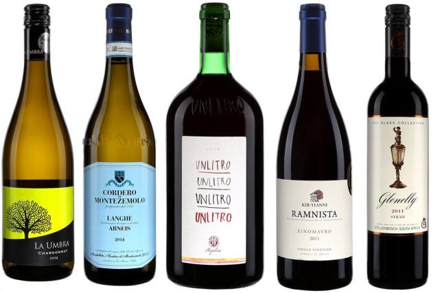 Ces nouveaux vins viennent d'arriver à la SAQ... (PHOTOS FOURNIES PAR LA SAQ)