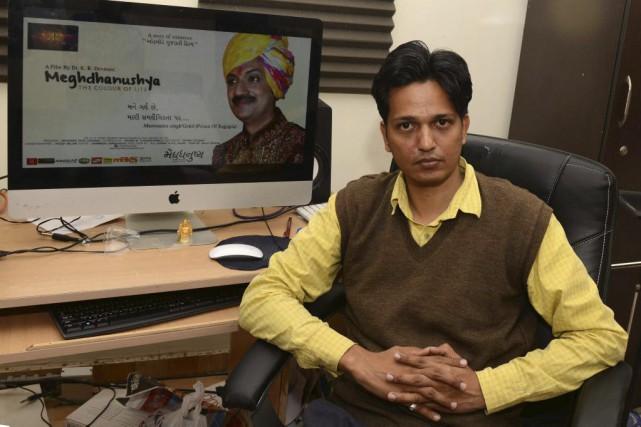 Le réalisateur Kiran Kumar Devmani... (PHOTO AFP)