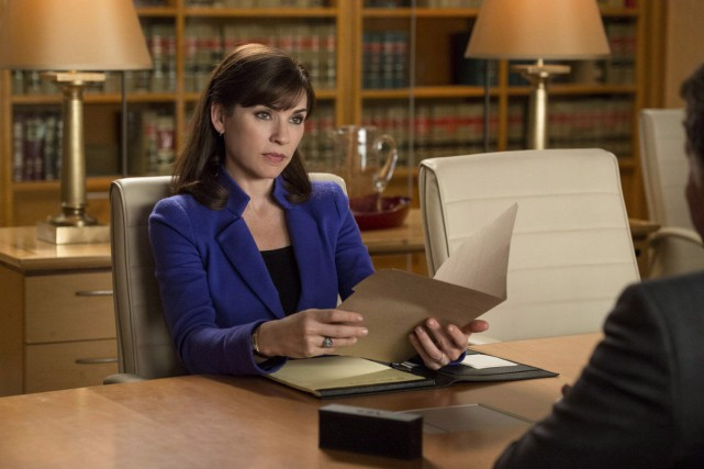 Julianna Margulies incarne Alicia Florrick dans The Good... (PHOTO ARCHIVES AP)