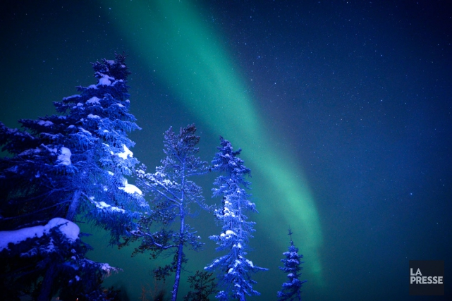 La fugacité des aurores boréales est un facteur... (PHOTO BERNARD BRAULT, LA PRESSE)