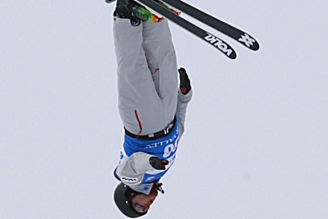 La saison du skieur acrobatique Olivier Rochon s'est... (George Frey, Archives AP)