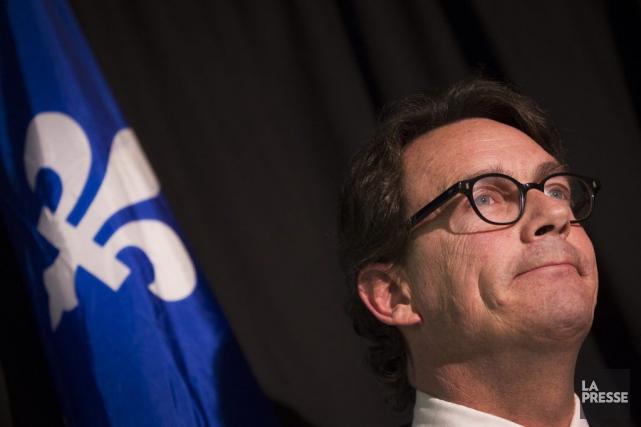 Le chef du Parti québécois, Pierre Karl Péladeau... (La Presse, Ivanoh Demers)