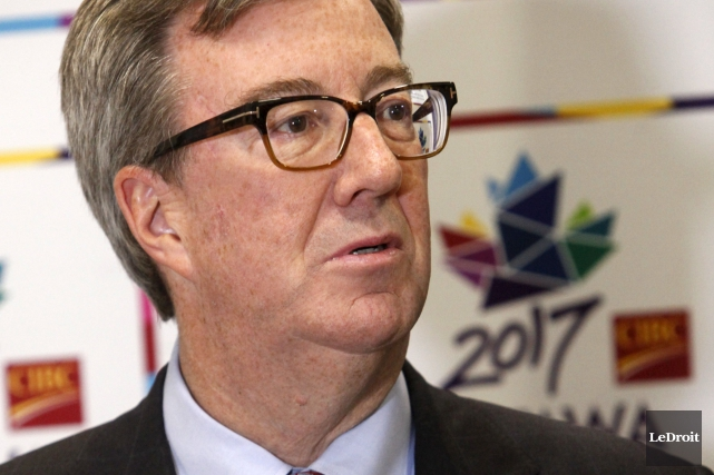 Le maire d'Ottawa, Jim Watson... (Simon Séguin-Bertrand, Archives LeDroit)