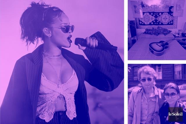 Rihanna en tête du Billboard (Infographie Le Soleil)