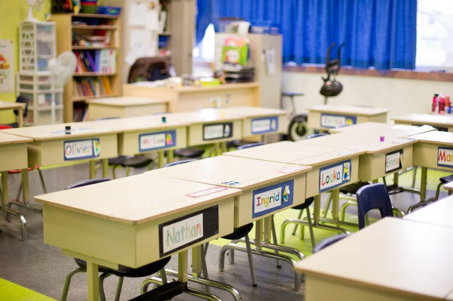 «Nous sommes convaincus que pour faire de l'école... (PHOTO SARAH MONGEAU-BIRKETT, archives LA PRESSE)
