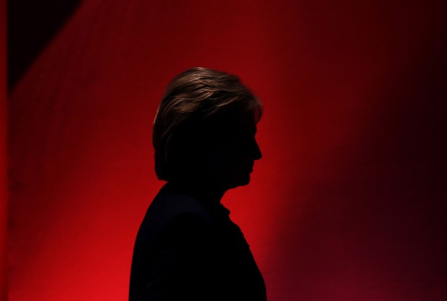 Selon notre chroniqueuse, Hillary Clinton n'a plus l'éclat... (Photo Jewel Samad, Agence France-Presse)