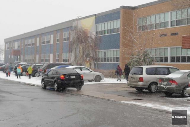 L'école secondaire Val-Mauricie de Shawinigan.... (Archives, Le Nouvelliste)