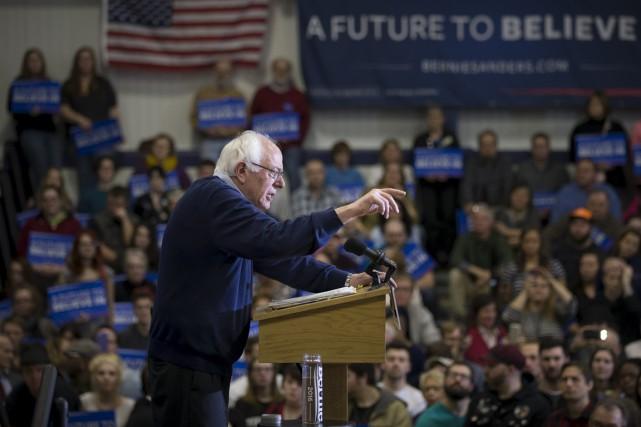 Bernie Sanders propose entre autres de s'attaquer au... (Associated Press)