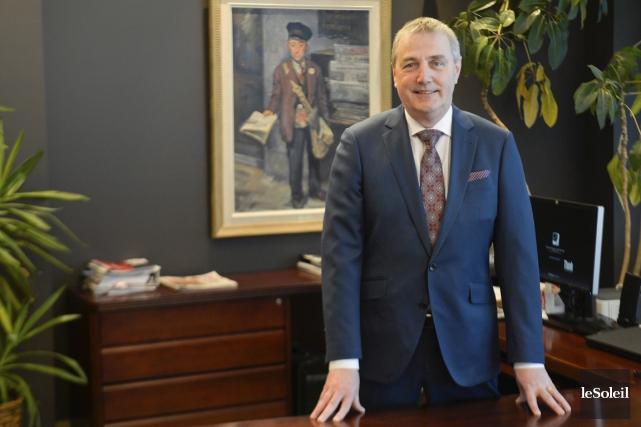 Claude Gagnon, président-directeur général du Groupe Capitales Médias,... (Le Soleil)