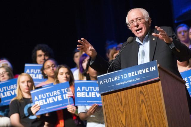 Bernie Sanders, qui se décrit comme un «socialiste... (PHOTO AP)